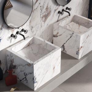 Breccia Melange Sensi UP porcelain marble tiles