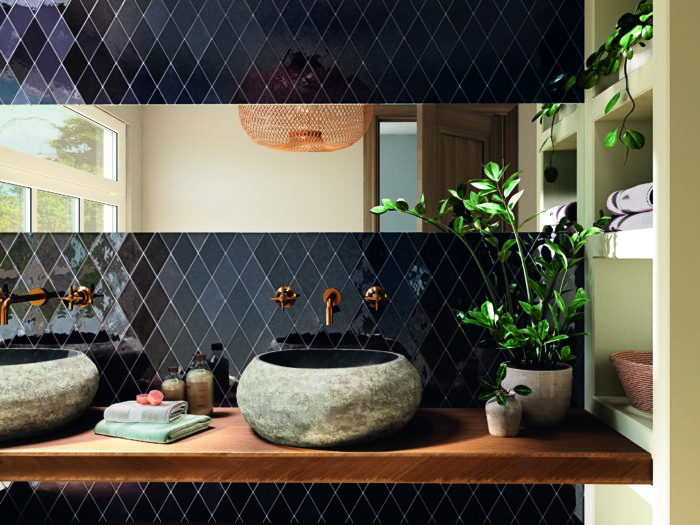 Memories Night ceramic tile