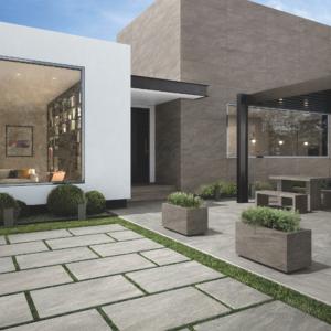 grey porcelain outdoor tiles