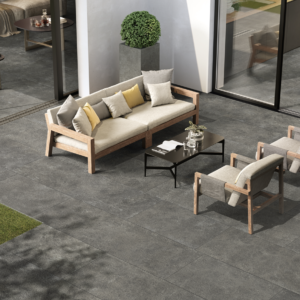 anthracite porcelain outdoor tiles