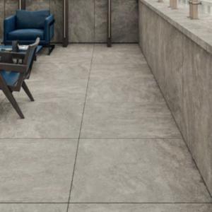 travatino storm outdoor tile grey