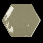 memories kisses victorian green hexagon wall tiles