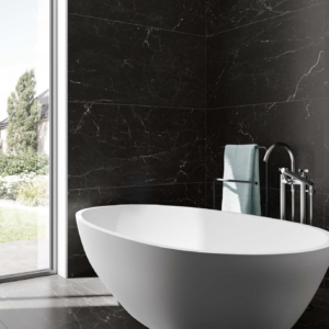 Marquina Black Lux, panaria, eternity collection, dark marble